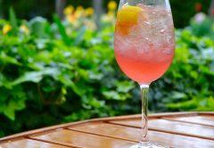 Cocktail at Joe Fortes