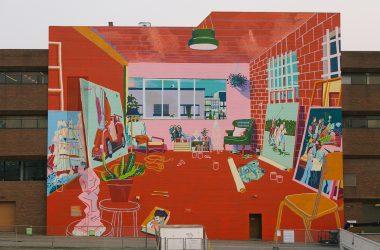 Andy Dixon Main Street mural
